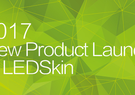 New Product Launch of LEDSkin