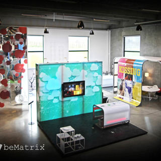Design showroom in beMatrix frames