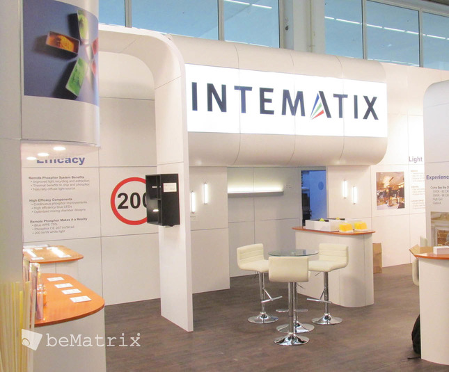 Intematix stand by Modex Exhibitions - Foto 0