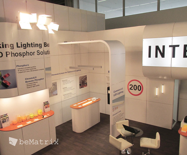 Intematix stand by Modex Exhibitions - Foto 2
