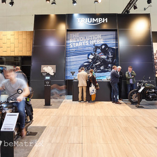 Triumph @ Car and Motor Show 2017
